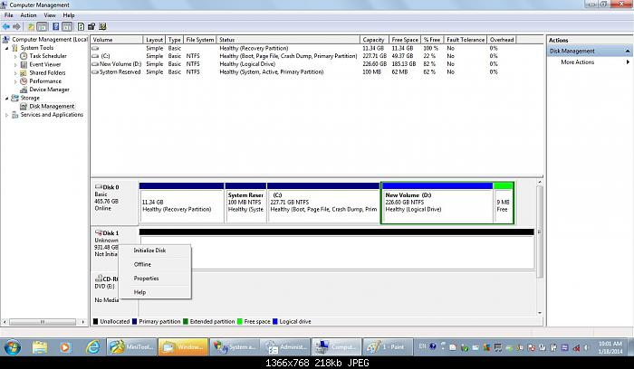 unallocated partition